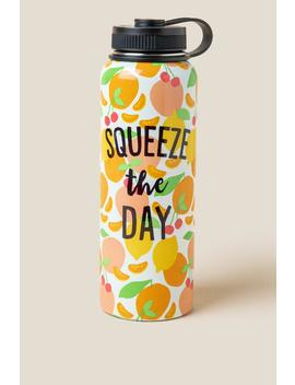 Squeeze The Day Water Bottle by Francesca's