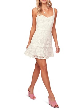 Carissa Lace Mini Sundress by Astr The Label