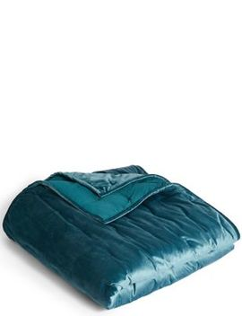 Velvet Quilted Bed Throw by Marks & Spencer