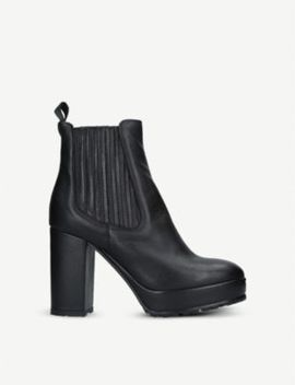 Spice Platform Leather Boots by Kurt Geiger London