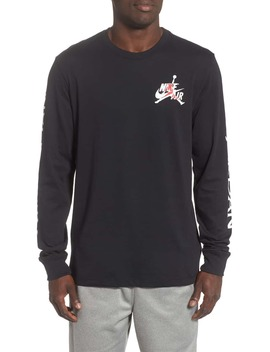 Jumpman Long Sleeve T Shirt by Jordan