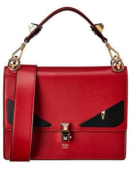 Fendi Kan I Leather Shoulder Bag by Fendi