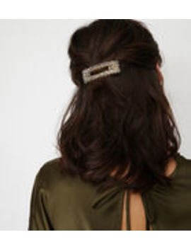 Facet Crystal Hair Clip by Warehouse