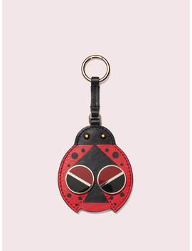 Spademals Ladybug Dangle Keychain by Kate Spade