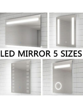 <Span><Span>Led Illuminated Bathroom Mirror Demister / Shaver / Touch /Swith   Option</Span></Span> by Ebay Seller
