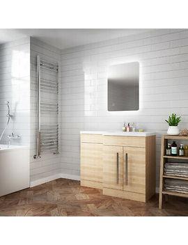 <Span><Span>Led Bathroom Mirror Modern Style Rectangular Illuminated Lighted Ip44 700x500mm </Span></Span> by Ebay Seller