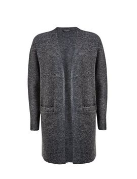 Charcoal Edge To Edge Cardigan by Dorothy Perkins