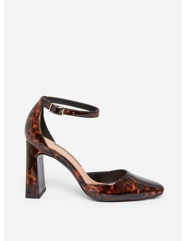 Multi Colour Tortoise Shell 'dandie' Court Shoes by Dorothy Perkins