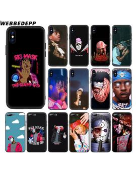 Webbedepp Ski Mask The Slump God Soft Silicone Case For Apple I Phone Xr Xs Max X Or 10 8 7 6 6 S Plus 5 5 S Se Phone Case by Ali Express.Com
