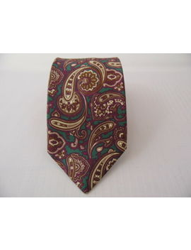 Guy Laroche Pesley Silk Tie Seta Cravatta Made In Italy X4742 by Guy Laroche