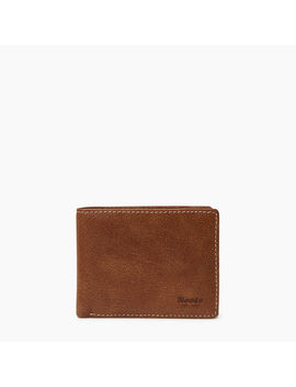 Mens Slimfold Wallet With Coin Pocket Tribe Mens Slimfold Wallet With Coin Pocket Tribe by Roots