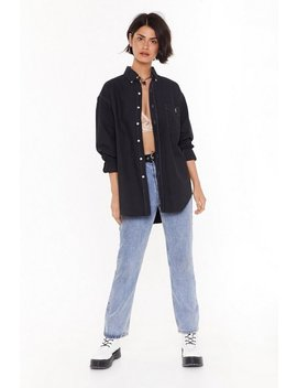 Nasty Gal Vintage Giddy Up Oversized Shirt by Nasty Gal