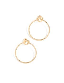 Loves Me Knot Hoop Earrings by Kate Spade New York