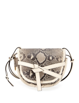 Gate Small Python Shoulder Bag by Loewe