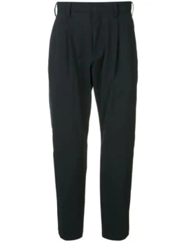 Cropped Tailored Trousers by Attachment