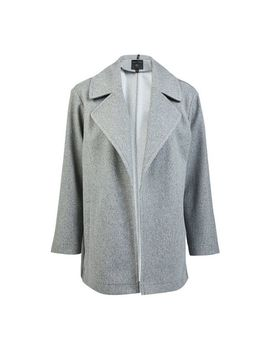 Grey Throw On Coat by Dorothy Perkins