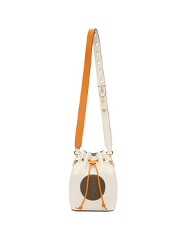 White Mon Trésor Bag by Fendi