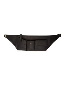 Black Pockets Belt Bag by Fendi