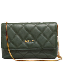 Sofia Leather Clutch Crossbody, Created For Macy's by General