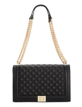 I.N.C. Ajae Quilted Flap Crossbody, Created For Macy's by General