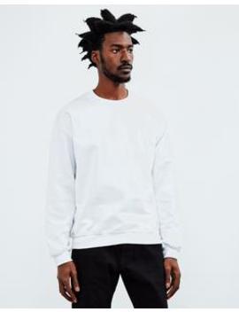 Basic Sweatshirt White by The Idle Man
