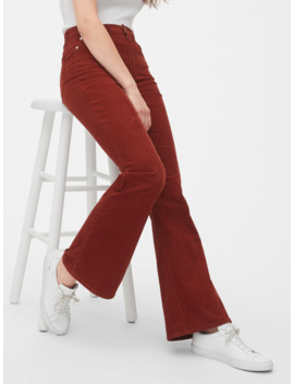 '70s Pioneer High Rise Flare Cords by Gap