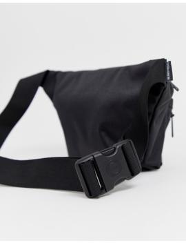 Hershel Supply Co Seventeen Black Bum Bag With Tonal Zip by Herschel Supply Co