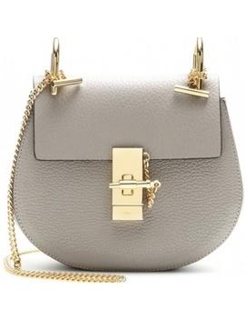 Chloe Motty Grey Leather Mini Drew Bag by Chloe