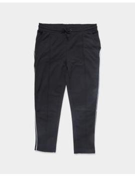 Side Stripe Track Pants Black by The Idle Man