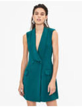Wrap Waistcoat Dress by Bershka