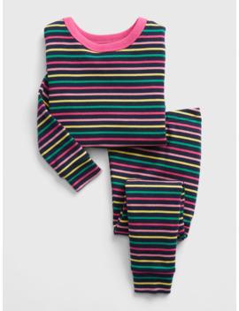Baby Stripe Pj Set by Gap