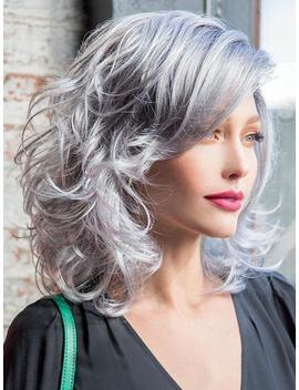 René Of Paris India Smoky Gray Wig Top Seller by Etsy