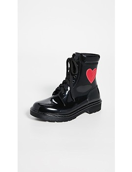 Heart Boots by Moschino