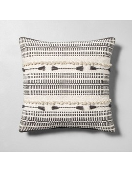 Knotted Throw Pillow Cream / Gray   Hearth &Amp; Hand With Magnolia by Hearth & Hand With Magnolia
