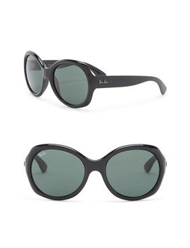 57mm Oversized Sunglasses by Ray Ban