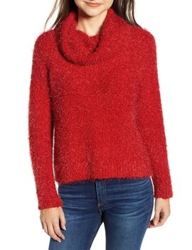 Cowl Neck Boucle Sweater by Cupcakes And Cashmere