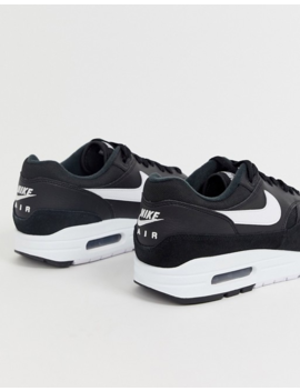 Nike Air Max 1 Trainers In Black by Nike
