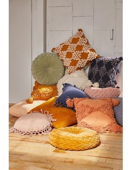 Eden Tufted Throw Pillow by Urban Outfitters