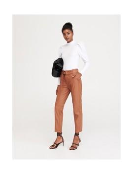 Koženkové Kalhoty by Reserved