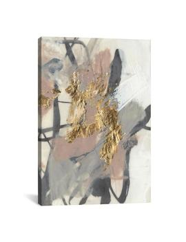 """Golden Blush Ii"" By Jennifer Goldberger Canvas Wall Art by I Canvas"