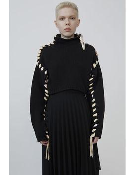 Mock Neck Sweater Black by Acne Studios