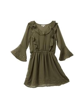 Bell Sleeve Dress (Big Girls) by Splendid