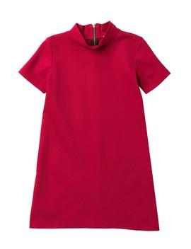 Ponte Aline Dress (Big Girls) by Love...Ady