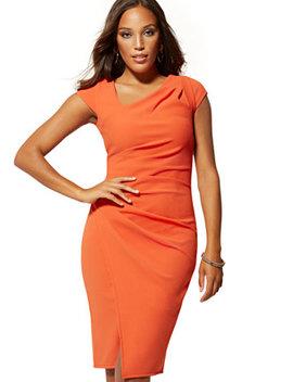 Tall Cap Sleeve Sheath Dress by New York & Company