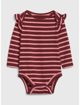 Baby Ruffle Bodysuit by Gap