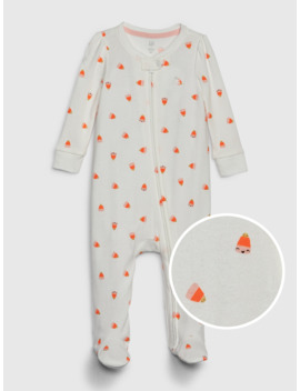 Baby Halloween Footed One Piece by Gap
