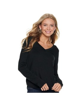 Juniors' So® Favorite Long Sleeve Tee by Juniors' So