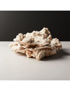 Mountain Coral Object Ivory by Crate&Barrel