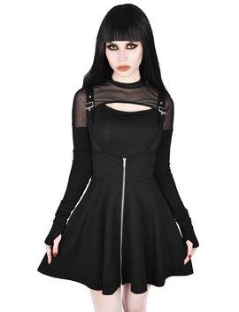 Suspend Me Statement Skirt by Killstar