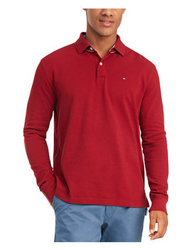 Men's Kent Long Sleeve Polo Shirt, Created For Macy's by General